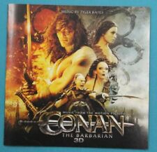CONAN THE BARBARIAN CD SOUNDTRACK BY TYLER BATES