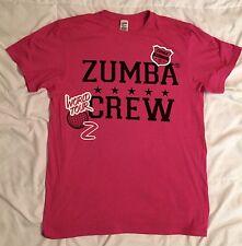 Zumba Fitness Unisex World Tour T-shirt Hot Pink One Size