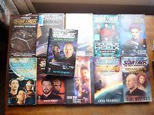 Star Trek 11 paperback books 8 Next Gen / 2 Voyager / 1 titan