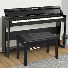88 Key 10-Grade Weighted Hammer Action Electric Digital Piano w/ Bench  Black