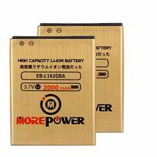 2 Pc powerful Battery EB-L1A2GBA For Samsung Galaxy SII I777  I9100 2000 mAh