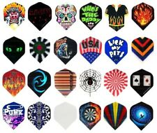 10 New Sets of Standard Dart Flights - Best Selection Available