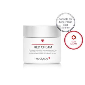 MEDICUBE Red Cream Plus 100ml for Acne, Sensitive Skin Whitening, Wrinkle Repair