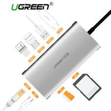UGREEN USB-C 3.1 to 3.0 HUB+Gigabit Ethernet Adapter SD Card Reader HDMI Adapter