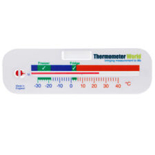 FRIDGE THERMOMETER - FOR FREEZER FRIDGE REFRIGERATOR TEMPERATURE GAUGE - IN-006