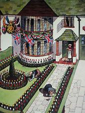 Gilding the Lily Patriotic Gardening Garden Dennis Mallet 1937 Page Print 7298