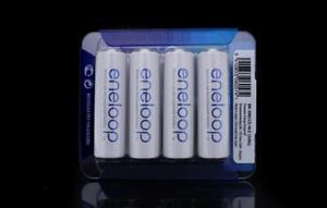 Eneloop Rechargeable AA Battery - NiMh - 4 Pack