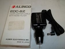 ALINCO EDC-8Z Battery Charger (cigar lighter type) with noise filter