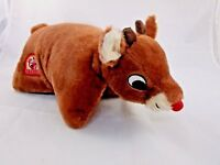 "Rudolph the Red Nosed Reindeer Pillow Pets 12"" Stuffed Animal"