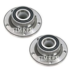 Pair Set of 2 Front Timken Wheel Bearing and Hub Kit for BMW E28 E24 E30 RWD