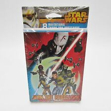 8 Star Wars Rebels Disney Birthday Party Invitations Invite & Thank You Cards