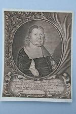 J.B.Paravicini - Johann Philippi, Kupferstich, um 1660