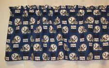 "NFL Football Indianapolis Colts Handmade Window Curtain Valance 56"" W x 13"" L"