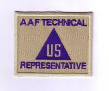WWII - CIVIL - AAF TECHNICAL REPRESENTATIVE (Reproduction)