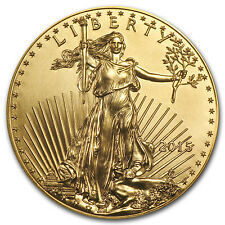 2015 1 oz Gold American Eagle BU - SKU #84882