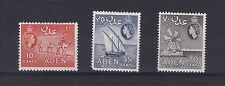 Mint Hinged Multiple Adeni Stamps (Pre-1967)