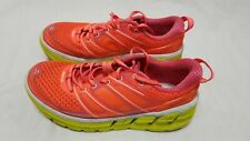 HOKA ONE Running Shoes Neon-Womens Conquest 2-Size 7-Orange/Yellow