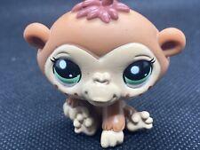 Littlest Pet Shop Authentic Lps 2331 Brown Tan Freckles Blythe Chimpanzee Monkey