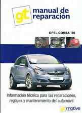 MANUAL DE TALLER  MECANICA Y REPARACION OPEL CORSA DESDE 2006