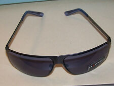 AXCESS MEN'S SUNGLASSES BY CLAIBORNE GUNMETAL FRAMES/ EARPC WRAP-AROUND - New!