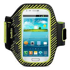 Belkin Samsung Galaxy S3 Mini / SIII MINI Ease Fit Bracciale Plus custodia / coperchio nero