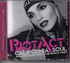 Rio Act- California soul cd maxi single incl video