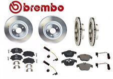 Mercedes Pads Brake KIT & 4-Brembo Vented Front & Rear Rotors GLK250 GLK350