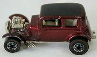 HOT WHEELS vintage 32 ford vicky die cast redline maroon car