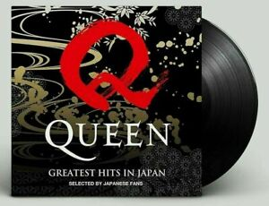 QUEEN GREATEST HITS IN JAPAN HEAVYWEIGHT VINYL LIMITED EDITION OF 2000 SOLD OUT