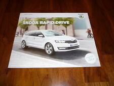 Skoda Rapid DRIVE Prospekt 12/2014