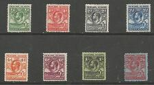 FALKLAND IS SG16-23 THE 1929-37 WHALE & PENGUIN SET TO 2/6d MOUNTED MINT C£160+
