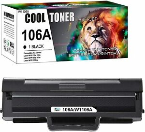 With Chip Toner Cartridge For HP Laser 107 Series 107a 107w MFP 130 W1106A 106A