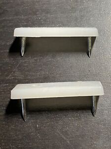 2x IKEA FLOOR SURFACE PROTECTION / FLOOR GLIDES RECTANGLE w/ NAILS PART # 122628