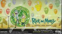 Rick and Morty Season 2 Trading Cards SEALED HOBBY BOX Cryptozoic Auto Sketch
