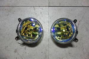 JDM Subaru Impreza WRX STi V7 Fog Lights Driving Lamps 2002 2003 Multicolour GDB