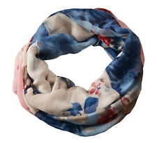 J*Jayz weicher Loop-Schal bunt mit Blumendruck - Neu