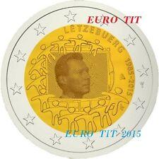 2 €    LUXEMBOURG   COMMEMORATIVE   2015  1   X  PIECE   DRAPEAU      disponible