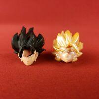 Dragon Ball Z Son Goku and Gohan Action Figure Heads