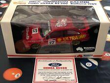 Biante Model Cars 1:18 1989 Johnson Bowe Signed DJR Bathurst Winner Ford Sierra
