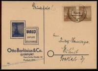 Germany Soviet Zone SBZ Thuringia Thueringen Imperforate Fir Tree Stamp Co 63450