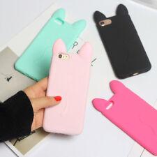 Neu Katze Handyhülle Schutz Hülle Silikon Cover Schutz Case for iPhone 7 7p 6 6p