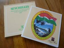1982 Royal Comme neuf Seychelles Universel Coin Collection. 1982 seychelles ensemble.