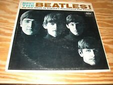 THE BEATLES MONO LP LOT - MEET + RUBBER SOUL
