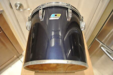 "1980 LUDWIG NAVY BLUE IMRON / BLACK CORTEX 13"" CONCERT TOM to YOUR DRUM SET A379"