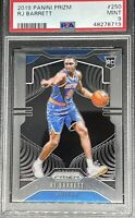2019 Panini PRIZM RJ Barrett #250 ROOKIE PSA 9 MINT *Hot Card*