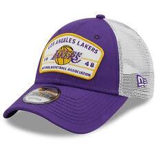 Los Angeles Lakers New Era Loyalty 9FORTY Snapback Hat - Purple
