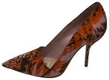 Christian Dior New $960 Floral Print Pointy Toe Satin Pump (Size: 36EU)