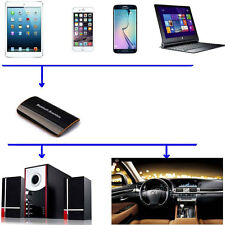Bluetooth A2DP Wireless 3.5mm RCA Stereo Home Car Music Audio Receiver Dongle