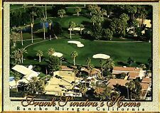 Frank Sinatra Home Rancho Mirage California, near Palm Springs, Golf -- Postcard