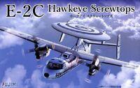 E-2C HAWKEYE 'SCREW TOP' (VAW-123, USS AMERICA MARKINGS) #722856 1/72 FUJIMI